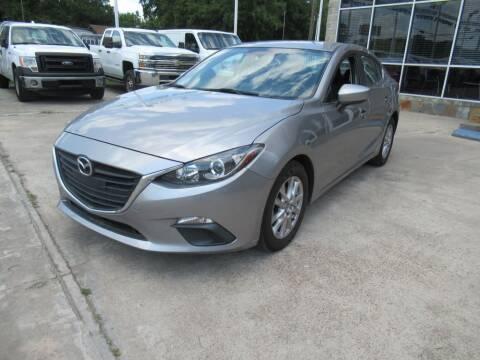 2016 Mazda MAZDA3 for sale at Lone Star Auto Center in Spring TX