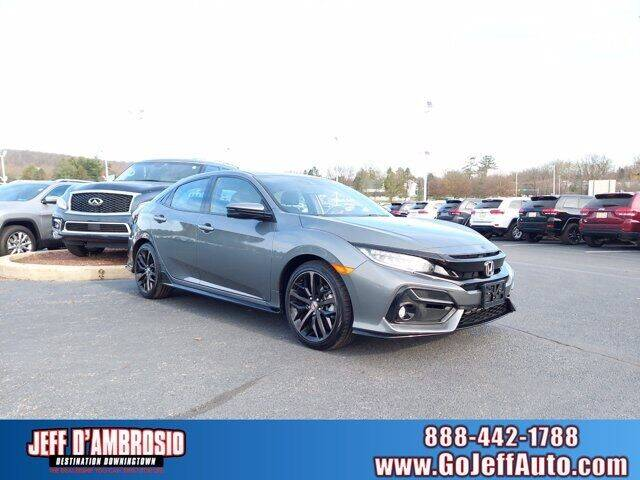 2020 Honda Civic for sale at Jeff D'Ambrosio Auto Group in Downingtown PA
