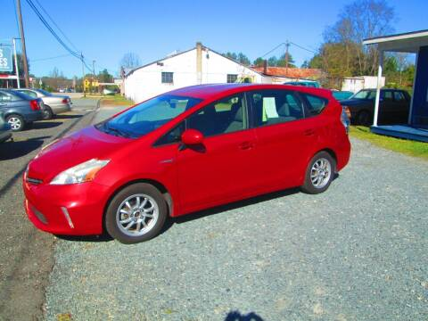 2012 Toyota Prius v for sale at Wright's Auto Sales in Lancaster SC