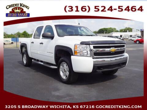 2010 Chevrolet Silverado 1500 for sale at Credit King Auto Sales in Wichita KS