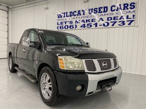 2004 Nissan Titan for sale at Wildcat Used Cars in Somerset KY