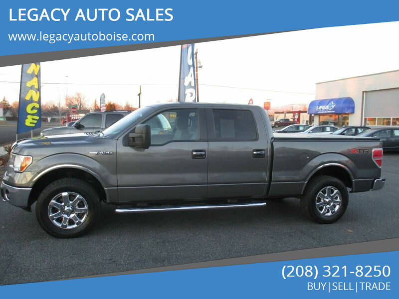 2013 Ford F-150 for sale at LEGACY AUTO SALES in Boise ID