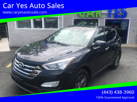 2014 Hyundai Santa Fe Sport for sale at Car Yes Auto Sales in Baltimore MD