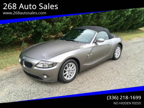 2003 BMW Z4 for sale at 268 Auto Sales in Dobson NC