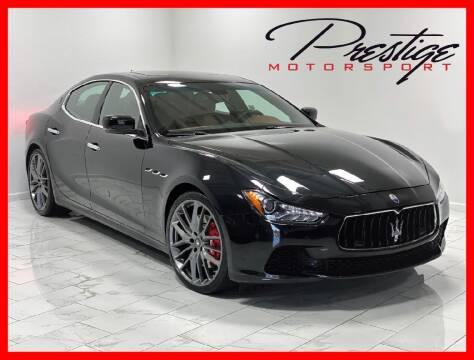 2014 Maserati Ghibli for sale at Prestige Motorsport in Rancho Cordova CA