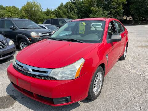 2008 Ford Focus for sale at Best Buy Auto Sales in Murphysboro IL