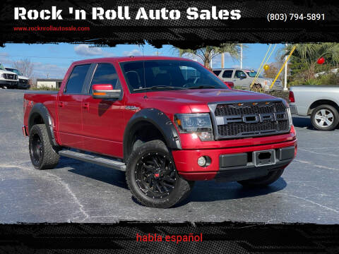 2010 Ford F-150 for sale at Rock 'n Roll Auto Sales in West Columbia SC