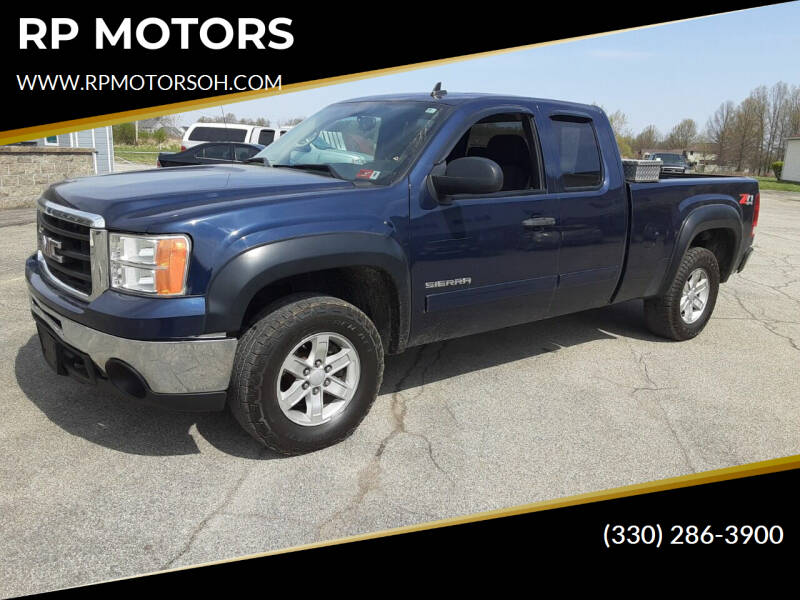 2011 GMC Sierra 1500 for sale at RP MOTORS in Canfield OH