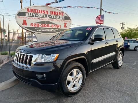 2011 Jeep Grand Cherokee for sale at Arizona Drive LLC in Tucson AZ