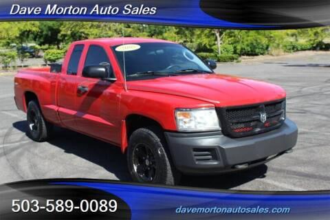 2008 Dodge Dakota for sale at Dave Morton Auto Sales in Salem OR