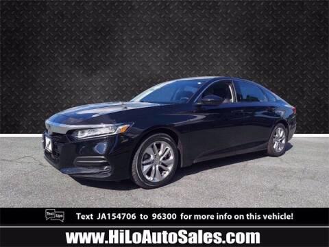 2018 Honda Accord for sale at Hi-Lo Auto Sales in Frederick MD