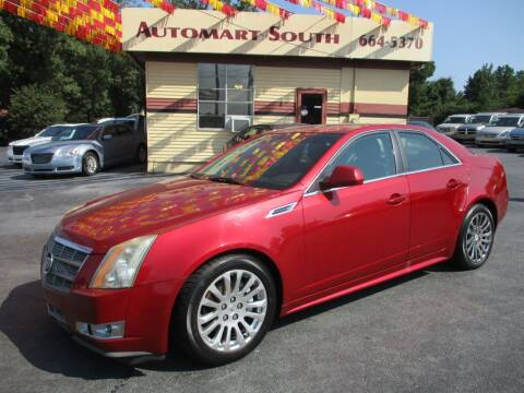 2010 Cadillac CTS for sale at Automart South in Alabaster AL