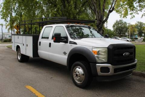 2012 Ford F-450 Super Duty for sale at Truck and Van Outlet in Miami FL