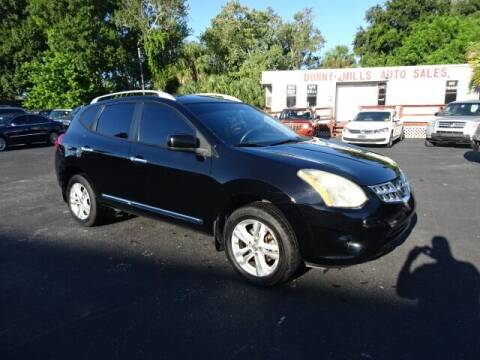 2013 Nissan Rogue for sale at DONNY MILLS AUTO SALES in Largo FL