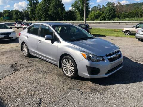 2012 Subaru Impreza for sale at Rooney Motors in Pawling NY