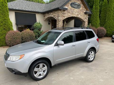 2010 Subaru Forester for sale at Hoyle Auto Sales in Taylorsville NC