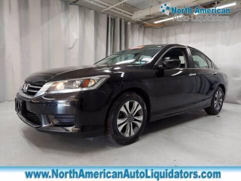 2014 Honda Accord for sale at North American Auto Liquidators in Essington PA