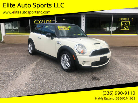 2010 MINI Cooper for sale at Elite Auto Sports LLC in Wilkesboro NC