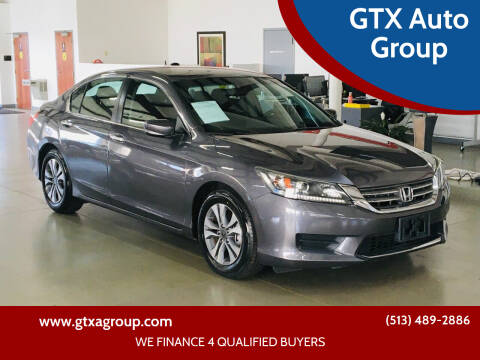 2015 Honda Accord for sale at GTX Auto Group in West Chester OH