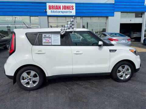 2019 Kia Soul for sale at Brian Jones Motorsports Inc in Danville VA