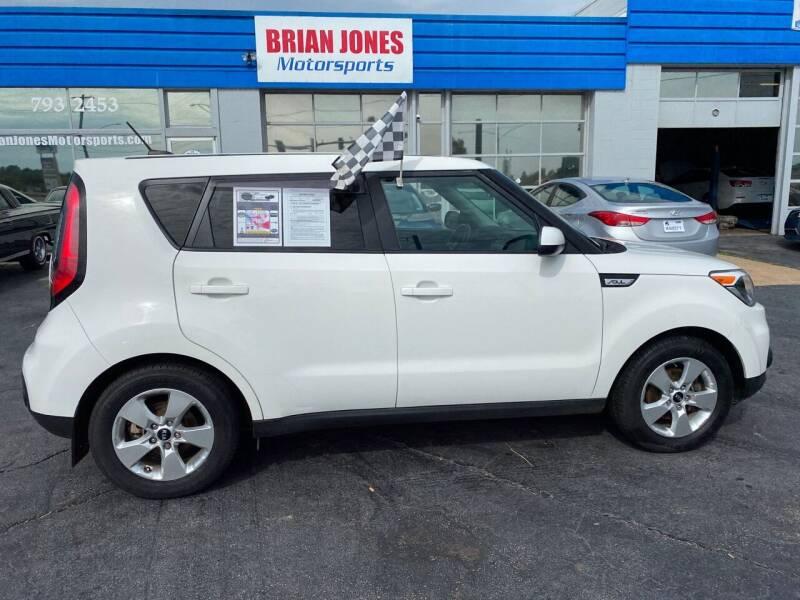 2019 Kia Soul for sale at Brian Jones Motorsports Inc in Danville VA