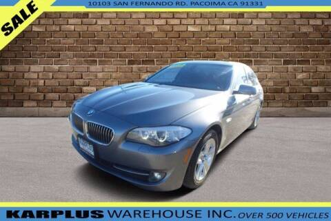 2013 BMW 5 Series for sale at Karplus Warehouse in Pacoima CA