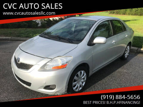 2010 Toyota Yaris for sale at CVC AUTO SALES in Durham NC