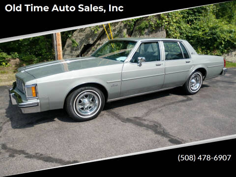 1983 Oldsmobile Delta Eighty-Eight Royale for sale at Old Time Auto Sales, Inc in Milford MA