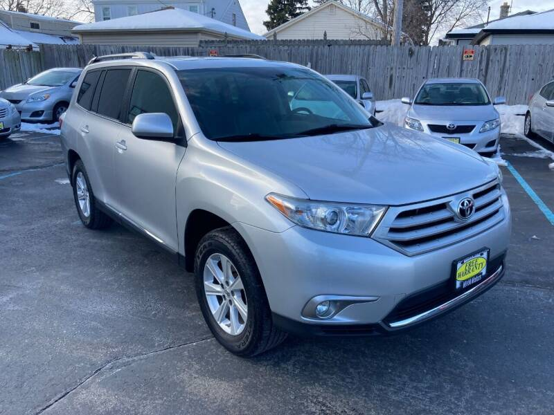 2011 Toyota Highlander for sale at M & M Motors in West Allis WI