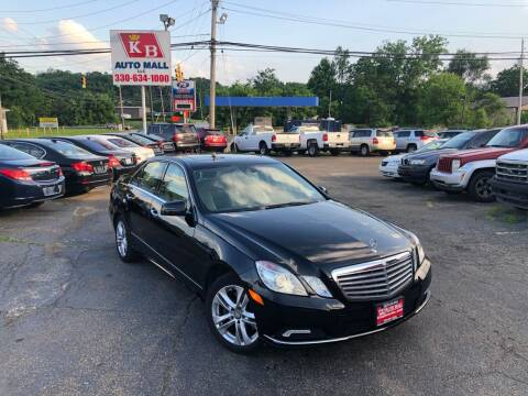 2010 Mercedes-Benz E-Class for sale at KB Auto Mall LLC in Akron OH