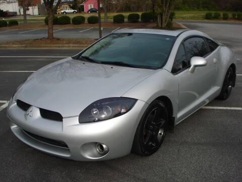 2007 Mitsubishi Eclipse for sale at Uniworld Auto Sales LLC. in Greensboro NC