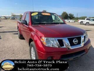 2016 Nissan Frontier for sale at BELOIT AUTO & TRUCK PLAZA INC in Beloit KS