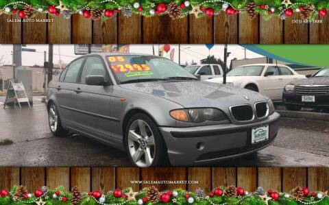 2005 BMW 3 Series for sale at Salem Auto Market in Salem OR