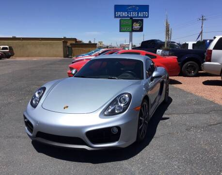 2016 Porsche Cayman for sale at SPEND-LESS AUTO in Kingman AZ