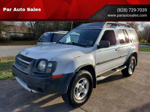 2004 Nissan Xterra for sale at Par Auto Sales in Lenoir NC