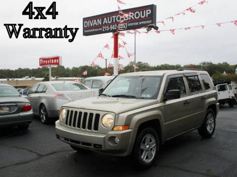 2010 Jeep Patriot for sale at Divan Auto Group in Feasterville PA