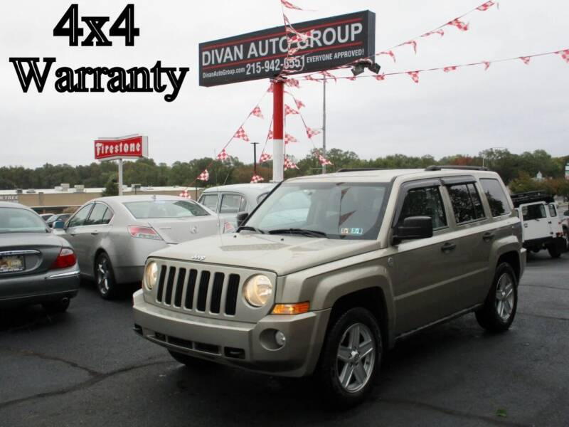 2010 Jeep Patriot for sale at Divan Auto Group in Feasterville Trevose PA