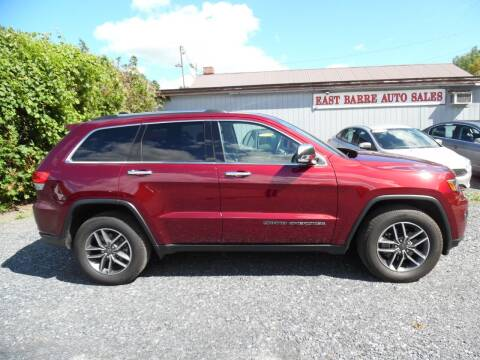2019 Jeep Grand Cherokee for sale at East Barre Auto Sales, LLC in East Barre VT