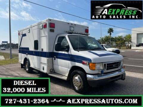 2004 Ford E-Series Chassis for sale at A EXPRESS AUTO SALES INC in Tarpon Springs FL