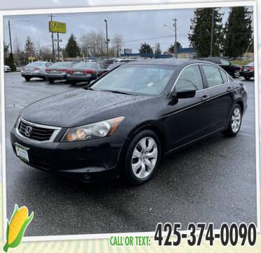 2010 Honda Accord for sale at Corn Motors in Everett WA