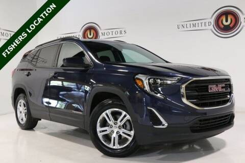 2018 GMC Terrain for sale at Unlimited Motors in Fishers IN