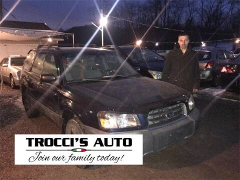 2003 Cadillac DeVille for sale at Trocci's Auto Sales in West Pittsburg PA