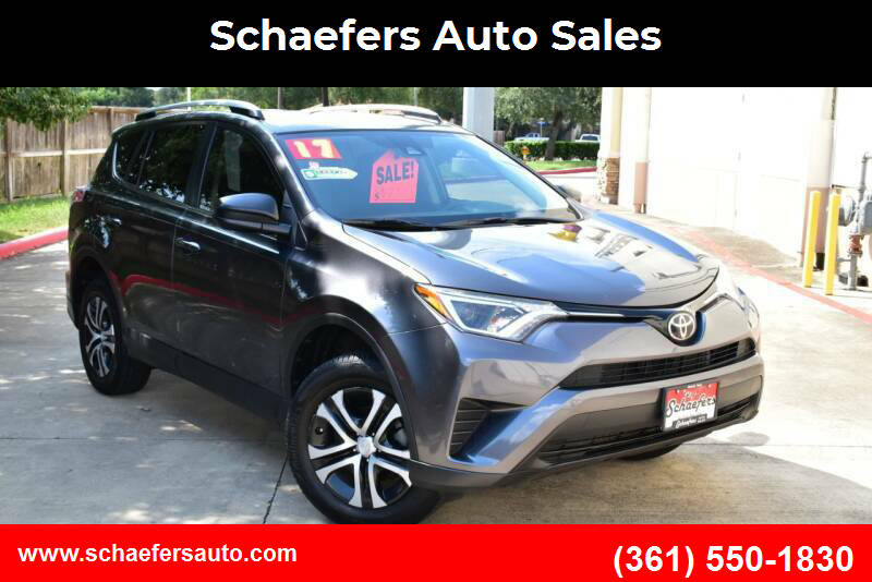 2017 Toyota RAV4 for sale at Schaefers Auto Sales in Victoria TX