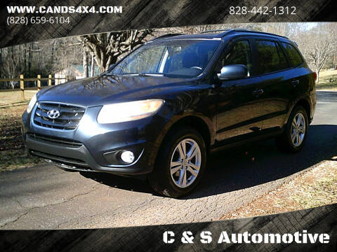 2011 Hyundai Santa Fe for sale at C & S Automotive in Nebo NC