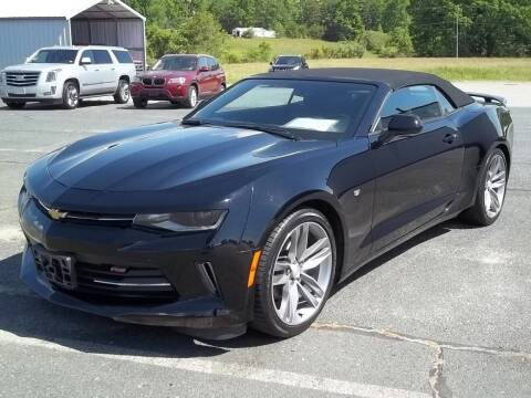 2018 Chevrolet Camaro for sale at Gilliam Motors Inc in Dillwyn VA