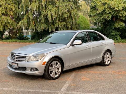 2008 Mercedes-Benz C-Class for sale at Q Motors in Lakewood WA