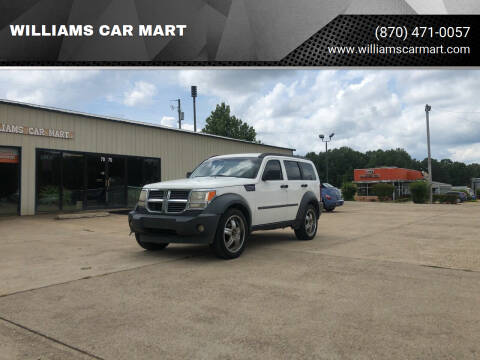 2007 Dodge Nitro for sale at WILLIAMS CAR MART in Gassville AR