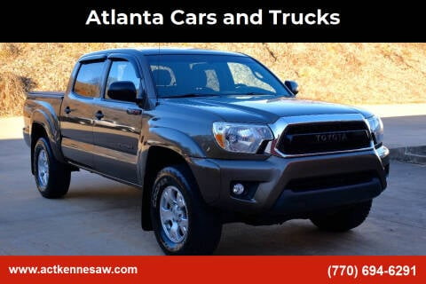 2015 Toyota Tacoma for sale at Atlanta Cars and Trucks in Kennesaw GA