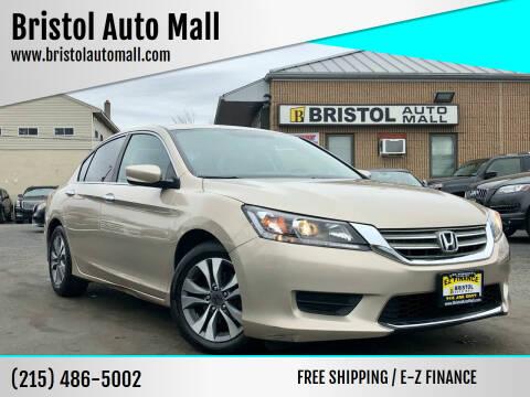 2014 Honda Accord for sale at Bristol Auto Mall in Levittown PA