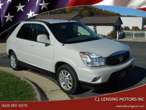 2006 Buick Rendezvous for sale at C.J. Lensing Motors Inc in Decorah IA